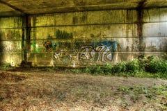 Graffiti auf Wand B Lizenzfreie Stockfotografie