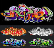 Graffiti  background Royalty Free Stock Photos