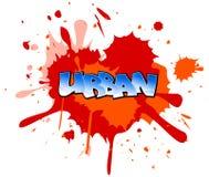 Graffiti background Stock Image