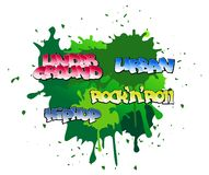 Graffiti background Royalty Free Stock Photo
