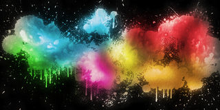 Graffiti Background Stock Photography