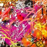 Graffiti Background Royalty Free Illustration