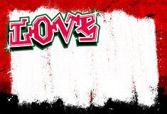 Graffiti background. With space for text or image Royalty Free Stock Photo