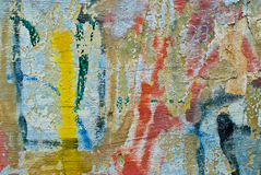 Graffiti background. Abstract colorful graffiti background close-up Royalty Free Stock Photo