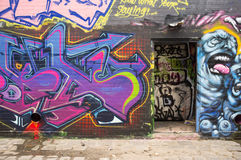 Graffiti Background Royalty Free Stock Images