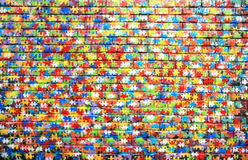 Graffiti. Background color of street graffiti on a brick wall stock photos