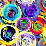 Graffiti Background seamless pattern Stock Image