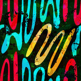 Graffiti Background seamless pattern. (vector eps 10 Royalty Free Stock Images