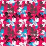 Graffiti Background seamless pattern Royalty Free Stock Photography