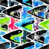Graffiti Background Urban art seamless pattern. (vector eps 10 Royalty Free Stock Photo