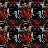 Graffiti Background Urban art seamless pattern Royalty Free Stock Photo