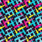 Graffiti Background Urban art seamless pattern Royalty Free Stock Image