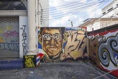 Graffiti in Bangkok Royalty Free Stock Image