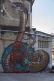 Graffiti in Bangkok Royalty Free Stock Images