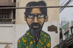 Graffiti in Bangkok Stock Images