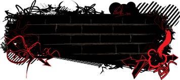Graffiti banner Stock Photo