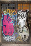 Graffiti Barcelona Royalty-vrije Stock Foto's