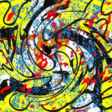 Graffiti beautiful abstract background Royalty Free Stock Image