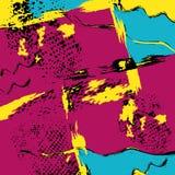 Graffiti beautiful abstract background vector illustration Royalty Free Stock Photo