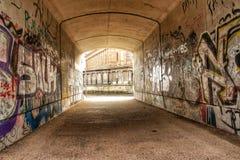 Graffiti in Berlin Stockfotografie