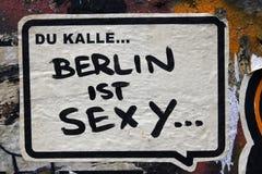 Graffiti in Berlin, Deutschland stockfotografie