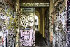 Graffiti Berlin Germany fotografia stock