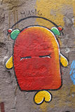 Graffiti in Berlin, Germany Royalty Free Stock Images