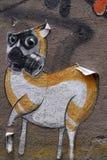 Graffiti in Berlin, Germany Stock Images