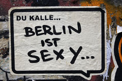 Graffiti in Berlin, Germany Stock Photography
