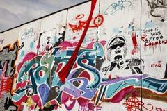 Graffiti in Berlin Royalty Free Stock Images