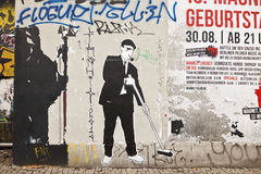 Graffiti in Berlin Royalty Free Stock Image