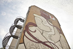 Graffiti in Berlin Royalty Free Stock Photos