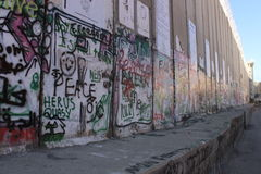 Graffiti in Bethlehem, Palestine Royalty Free Stock Photography