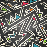 Graffiti bezszwowy wzór Zdjęcie Stock