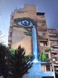 Graffiti thessaloniki Stock Photos