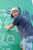 Graffiti boy Royalty Free Stock Photos