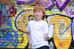 Graffiti boy Royalty Free Stock Photography