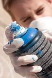 Graffiti boy Royalty Free Stock Images