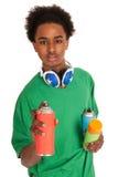 Graffiti boy Royalty Free Stock Image