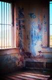 graffiti bunkierów wnętrze Obrazy Stock