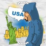 Graffiti character. Stock Photography