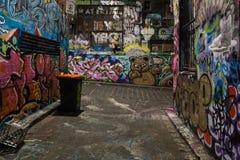 Graffiti ściany Fotografia Royalty Free