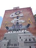Graffiti in city. Royalty Free Stock Photos