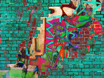 Graffiti .Collage Royalty Free Stock Photo