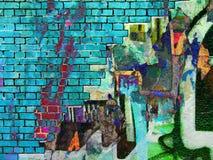 Graffiti .Collage Stock Photography