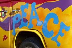Graffiti de paix Images libres de droits