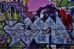 Graffiti coloré de rue Images libres de droits