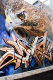 Graffiti hawk Stock Photo