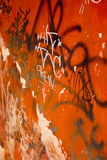 Graffiti: The Crew Royalty Free Stock Photo