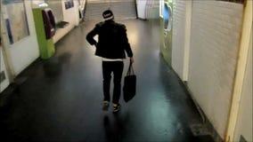 Graffiti crime 03 stock footage